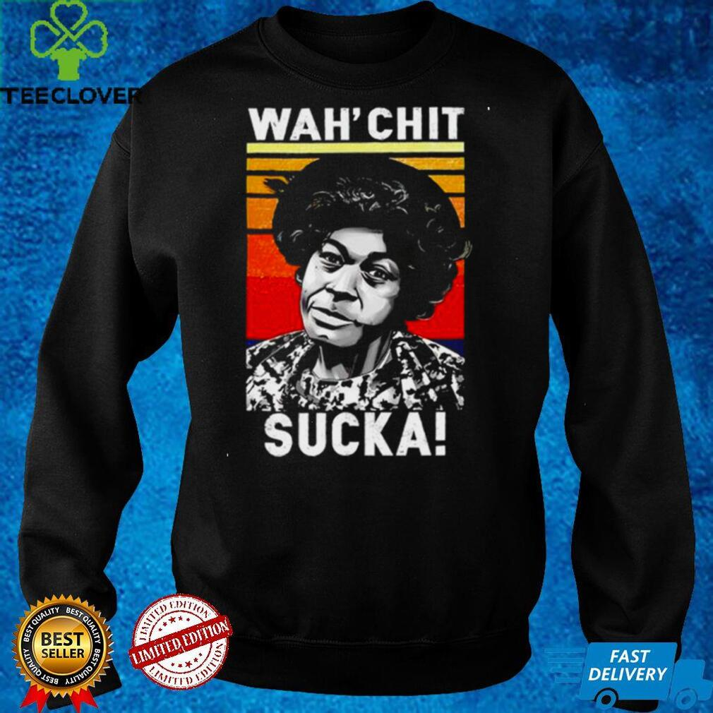 Official esther Anderson wahchit sucka vintage shirt