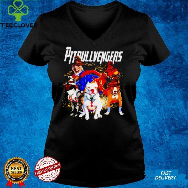 Pitbull Avengers Pitbullvengers Halloween shirt