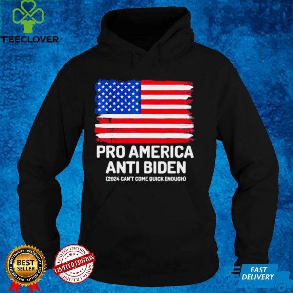 Pro America Anti Biden Flag Usa Tee Shirt