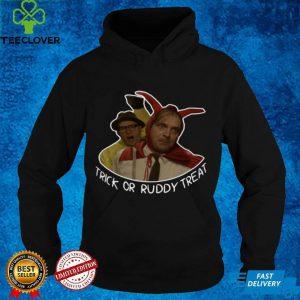 Richie and Eddie trick or ruddy treat shirt