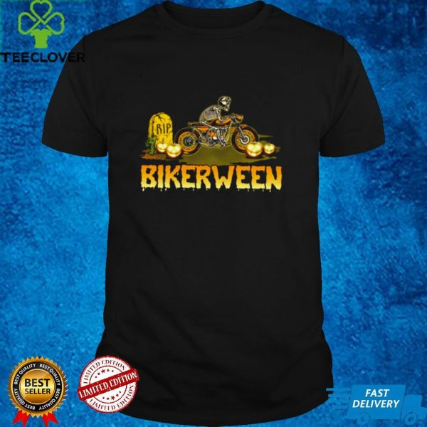 Rip bikerween skeleton shirt