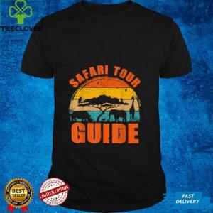 Safari Tour Guide Halloween Costume Animal Gift T Shirt