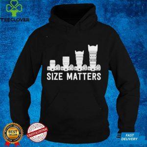 Size matters lens camera shirt
