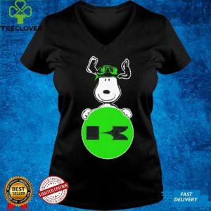 Snoopy hug Kawasaki Logo shirt