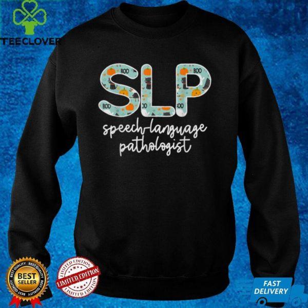 Speech Therapy Halloween for SLP Therapist T Shirt