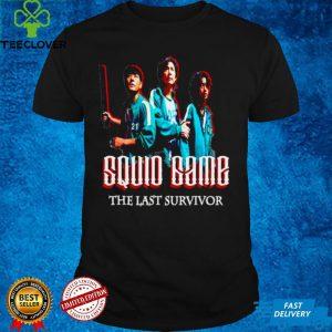 Squid Game the last survivor Korean movie shirt