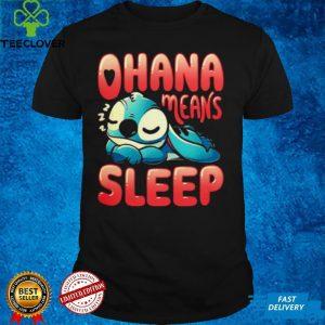 Stitch ohana means sleep shirt
