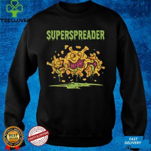 Superspreader Virus Flu Waves Quarantine Gift Idea T Shirt