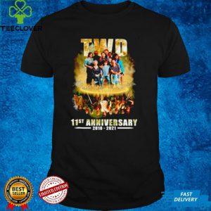 TWD 11st anniversary 2010 2021 signatures shirt