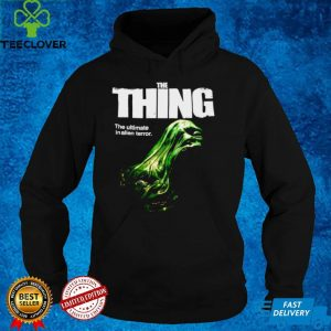 The Thing The Ultimate In Alien Terror T shirt