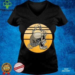 Trick Or Treat Creepy Chain Skull Halloween Night Skeleton Vintage Shirt