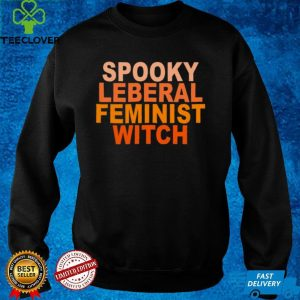 Spooky Liberal Feminist Witch Vintage Shirt