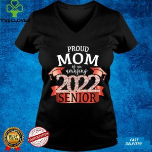 Womens Proud Mom of a 2022 Senior I School Color Red Party Decor T Shirt