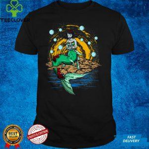 Zombie Mermaid Long Sleeve T Shirt