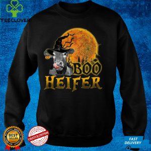 boo heifer funny halloween cow farmer Sweatshirt